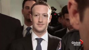 Facebook's Mark Zuckerberg testifies to U.S. lawmakers in wake of privacy scandal