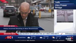 Presser: IIO respond to officer involved shooting in New West