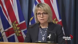 Provincial Health Officer calls for decriminalization of hard drugs