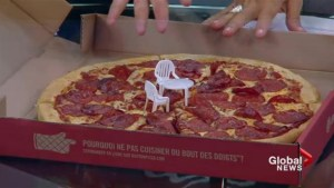 The little patio tables are coming to a pizza near you!
