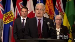 Garneau says fatal Humboldt crash driving push for national truck driver training standards