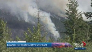 Elephant Hill Wildfire latest