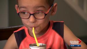Feeding disorder means Edmonton boy cannot eat