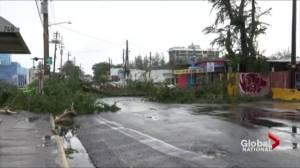 Power of Irma on display as hurricane makes landfall in Caribbean