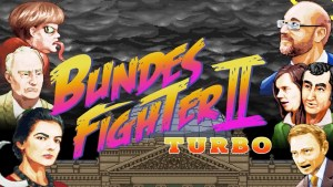 'Street Fighter' parody game allows German voters to fight as Merkel ahead of election
