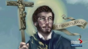 Relic of St. Francis Xavier displayed in Saskatoon