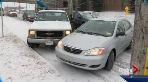 Icy start to the week in Southern Alberta