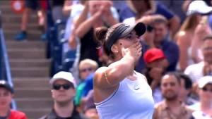 Bianca Andreescu advances to Rogers Cup finals