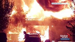 'Intense' fire consumes Edmonton duplex