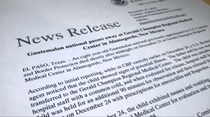 Policy changes announced after second child dies in U.S. custody