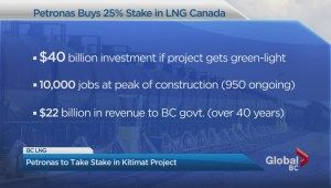 Malaysian company to buy stake in B.C. LNG