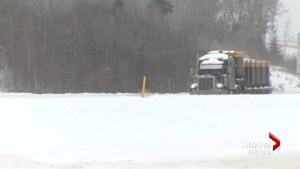 Travel not recommended in New Brunswick after winter storm