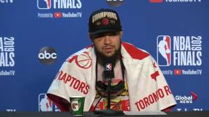 NBA Finals: Fred VanVleet says entire team has talent