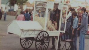 Street Corner Staple: Regina's vintage popcorn wagon