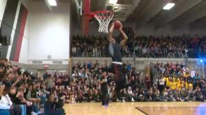 REB Invitational basketball tourney kicks off with slam dunk contest