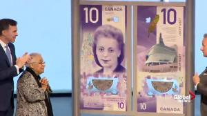 Canada's new $10 bank note featuring civil rights icon Viola Desmond unveiled