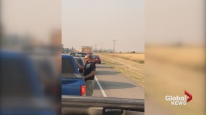 Southern Alberta man frustrated with people throwing cigarette butts out vehicle windows