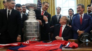 Trump welcomes 'entire' Washington Capitals team to White House despite snubs from notable players