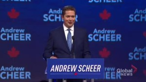 Scheer addresses removal of Sir John A. Macdonald's statue and rewriting history