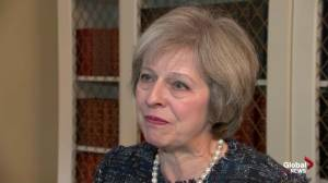 British PM looks forward to working with Trump despite sexist comments