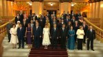 G20 leaders gather for gala, second 'family photo' in Argentina