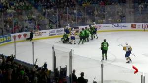 Saskatoon Blades end season with 5-4 win over Prince Albert Raiders