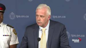 Nothing to suggest anyone else played role in Danforth shooting: police (00:26)