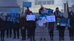 Kingstonians rally against government's autism funding cuts