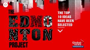 Edmonton Project reveals top 10 submissions to make Alberta's capital a better city