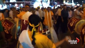 Drum procession kicks off Ganesh Chathurti festival in Maharashtra