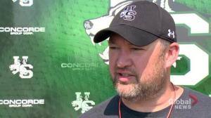 Saskatchewan Huskies head coach Scott Flory dons offensive co-ordinator hat