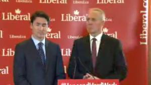 Trudeau showcases Bill Blair, vows support for first responders