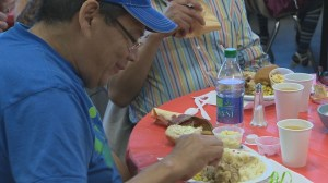 A Thanksgiving meal for Winnipeg homeless people