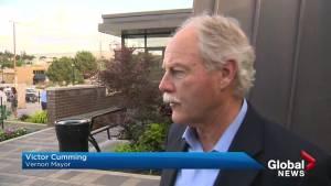 Vernon mayor Victor Cumming speaks on development near heron rookery (02:57)