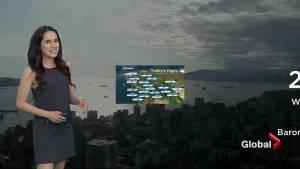 B.C. evening weather forecast: July 15