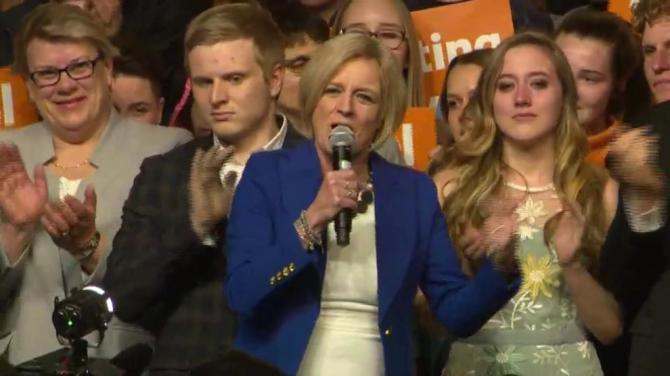 Questions raised about Canada's embrace of female leaders after Notley is turfed from office in Alberta