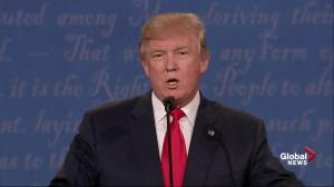 Presidential debate: Hillary Clinton accuses Donald Trump of exploiting undocumented workers