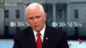 White House doesn't object to 'oversight': Pence