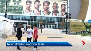 Toronto Raptors prepare for Game 1 of NBA Eastern Conference finals