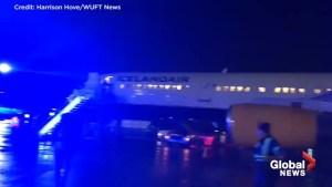 Icelandair makes emergency landing in Quebec after cockpit window shattered