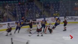 Medicine Hat Tigers beat Saskatoon Blades 6-2