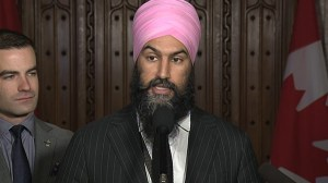 Jagmeet Singh calls on government to expunge criminal records for pot possession, not just pardon them