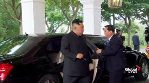 Trump-Kim summit: Kim Jon Un arrives for meeting with Trump