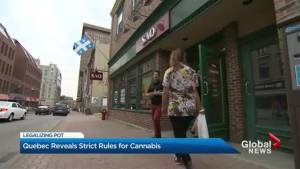 Quebec reveals strict rules for cannabis