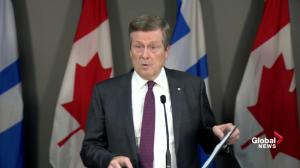 Tory had 'animated' conversation with Ford over cuts to city council