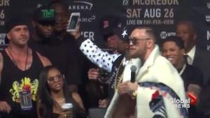 Floyd Mayweather vs. Conor McGregor: Showdown in New York