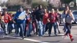 Anti-gun protest turns violent in California