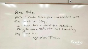 Florida teacher fired for failing her students