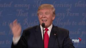 Presidential debate: 'I don't know Putin': Trump