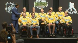 Humboldt Broncos bus crash survivors gather in Las Vegas